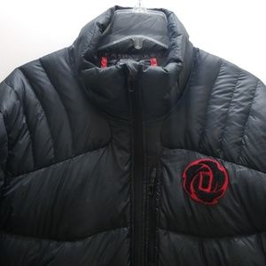 ADIDAS D ROSE MEN'S PUFFER JACKET